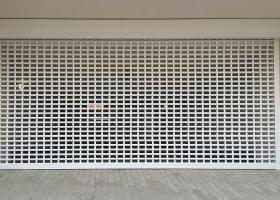 Роллетная решетка для гаража