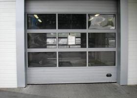 Панорамные ворота для гаража